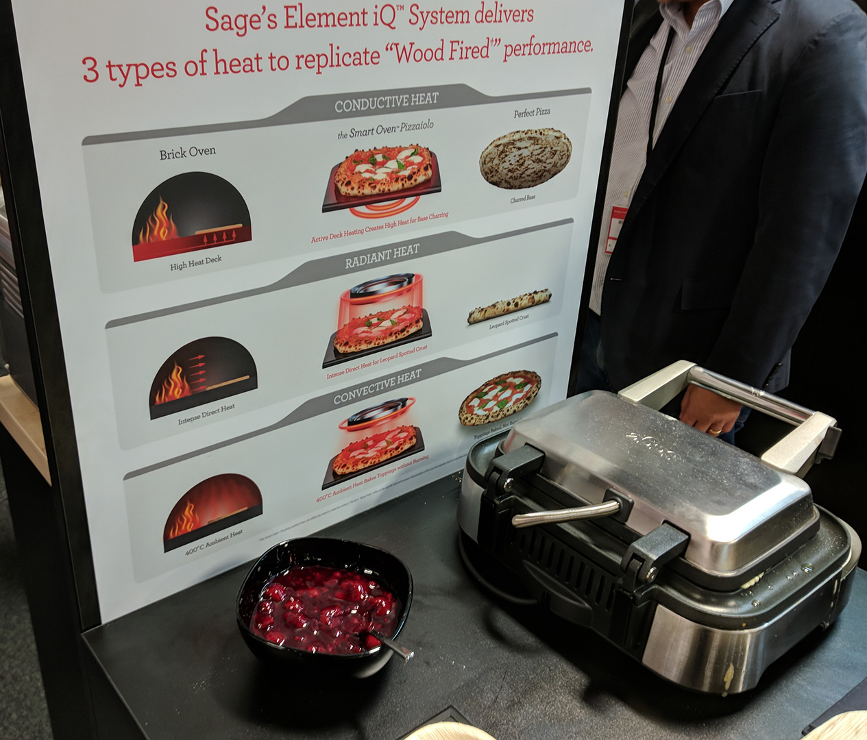 Sage's Element iQ System - Waffelofen